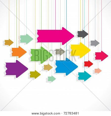 creative colorful arrow backgroundps