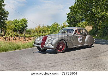 Alfa Romeo 6C 2500 Ss (1939) Runs In Mille Miglia 2014