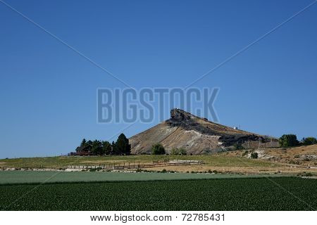 Idaho's Lizard Butte