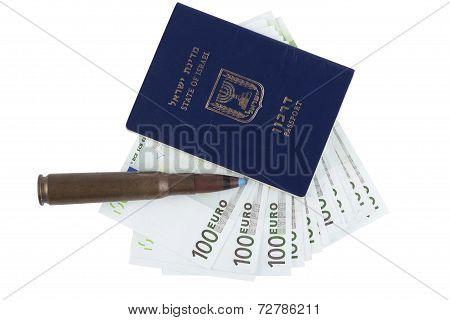 Passport On White