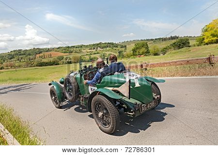 Bentley 4.5 Litre (1929) Runs In Mille Miglia 2014
