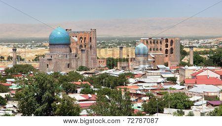 Bibi-khanym Mosque From Registan - Samarkand - Uzbekistan