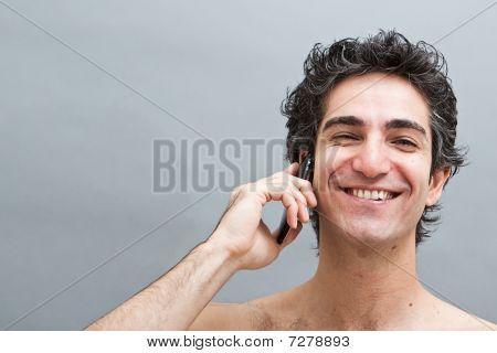 Angenehmes Telefongespräch