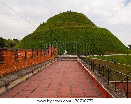 Kosciuszko mound near Krakow