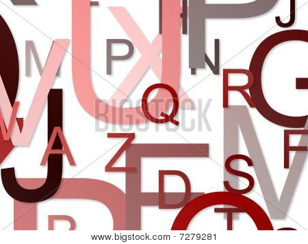 Alphabets Background