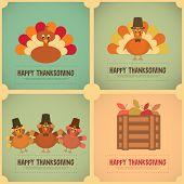 image of cartoons  - Thanksgiving Day - JPG