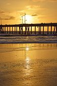 pic of sm  - A beautiful summer sunset in Venice Beach - JPG