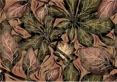 pic of camo  - camo as pattern of leaves - JPG