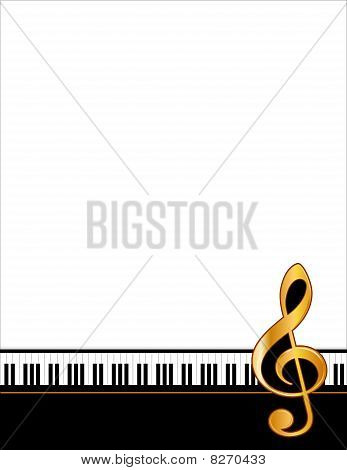 Music Poster, vertical