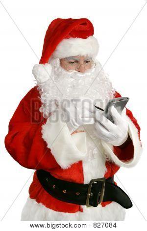 Modern Santa with List