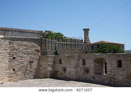 Turkish Castle Cesme Turkey