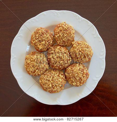 greek Christmas honey and nuts cookies