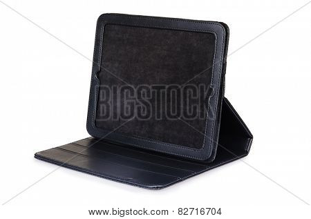 Tablet case isolated on the white