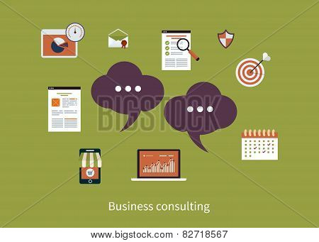Concept of consulting services
