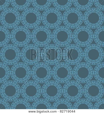 Abstract Geometric Spirograph Pattern
