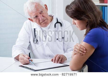 Doctor Doing Medical Interview