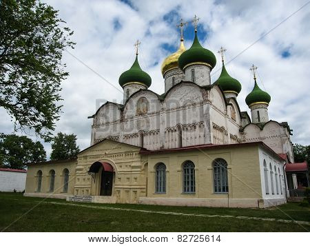 White Stone Church In Suzdal, Vladimir Region, Russia