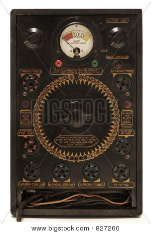 antique tube tester