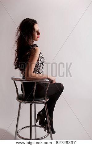 Sitting Woman Portrait