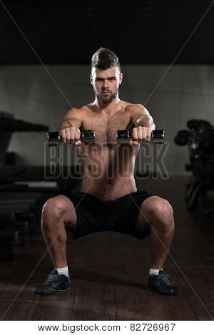 Dumbbell Squat Workout For Legs