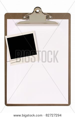 Clipboard With Photo