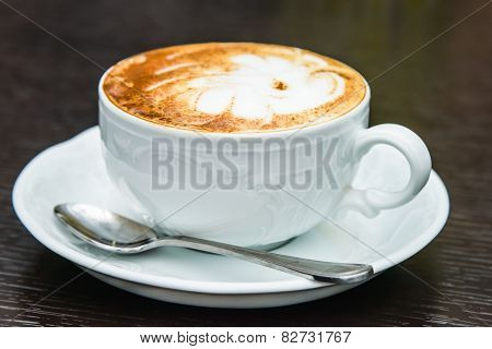 Cappuccino With Cinnamon