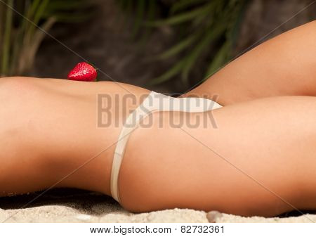 Woman On The Sand