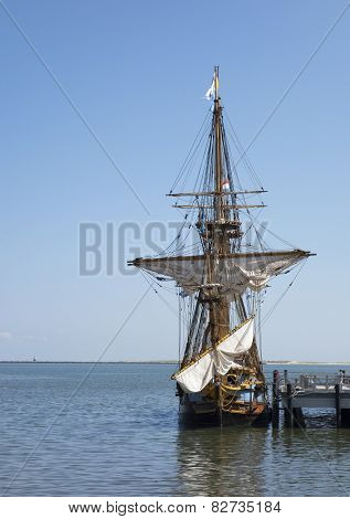 The Kalmar Nyckel Tall Ship
