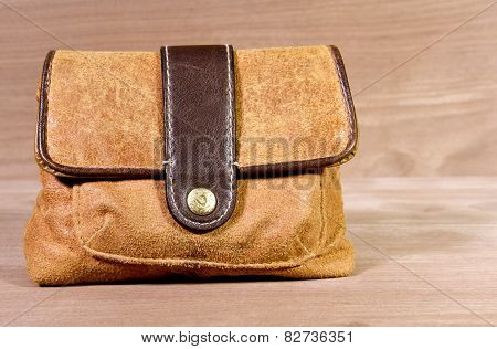 Leather Satchel Carry Bag