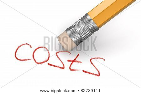 Erase Costs (clipping path included)