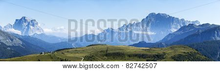 Mountains Summer Landscape