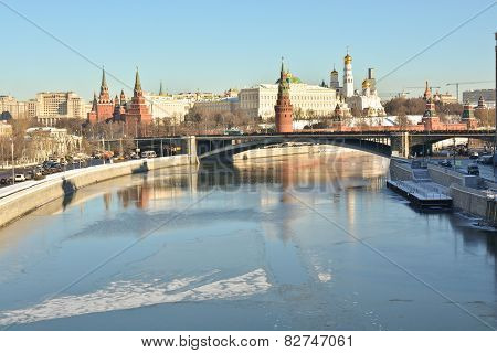 The Moscow Kremlin Is A Unesco World Cultural Heritage