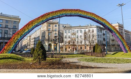 The Rainbow, art installation