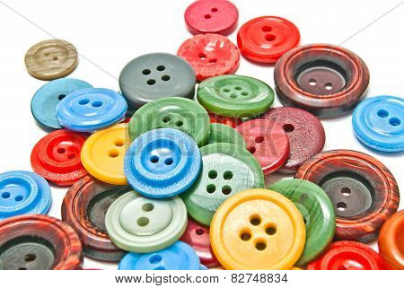 Some Colorful Buttons