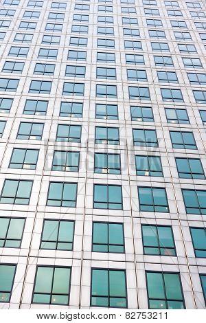 Glass Skyscraper In The City Of London