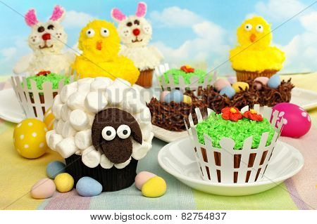 Easter cupcakes and treats