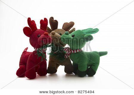 drei kleine Rentier