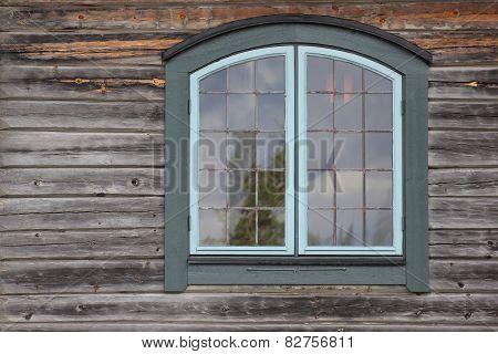 Log House Detail