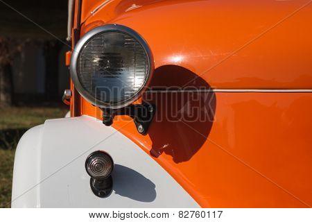Front Lights Old Car