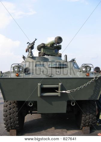 Military - Closeup of tank truck
