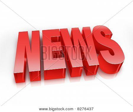 News 3D Render