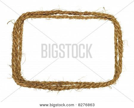 Coarse rope border