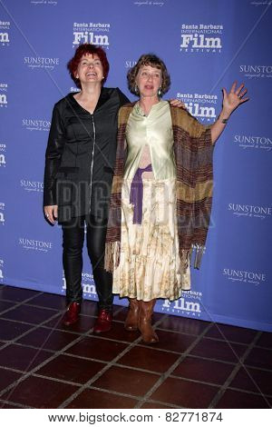 SANTA BARBARA - FEB 5:  Jane Rosemont, Kathy Knapp at the Santa Barbara International Film Festival - American Riviera Award at a Arlington Theater on February 5, 2015 in Santa Barbara, CA
