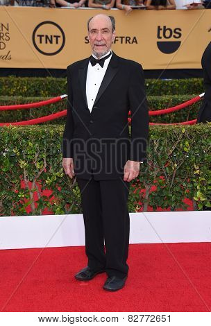 LOS ANGELES - JAN 25:  F. Murray Abraham arrives to the 21st Annual Screen Actors Guild Awards  on January 25, 2015 in Los Angeles, CA
