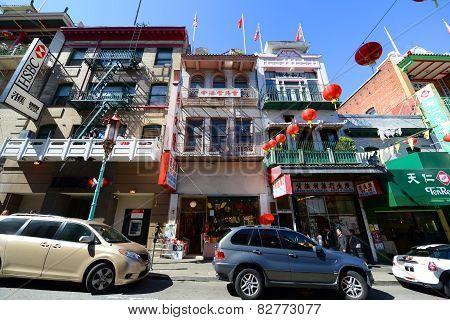 San Francisco Chinatown, California