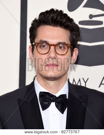 LOS ANGELES - FEB 08:  John Mayer arrives to the Grammy Awards 2015  on February 8, 2015 in Los Angeles, CA