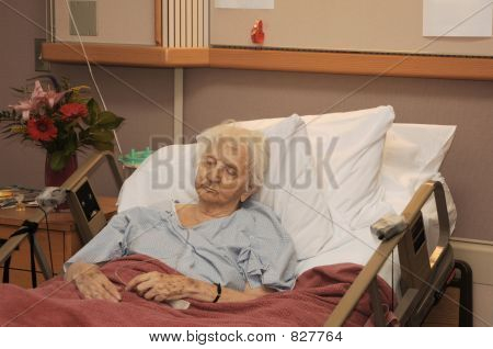 hospitalized senior