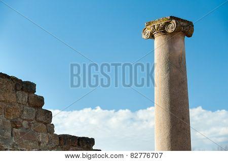 Old Roman Columns