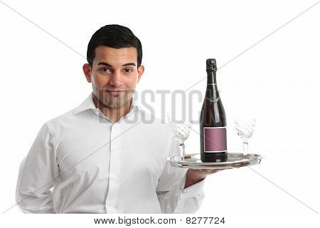 A Waiter Or Barman
