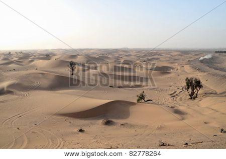 The Dunes In The Desert, Dubai, United Arab Emirates
